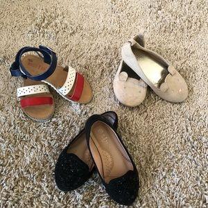 Flat and sandal bundle